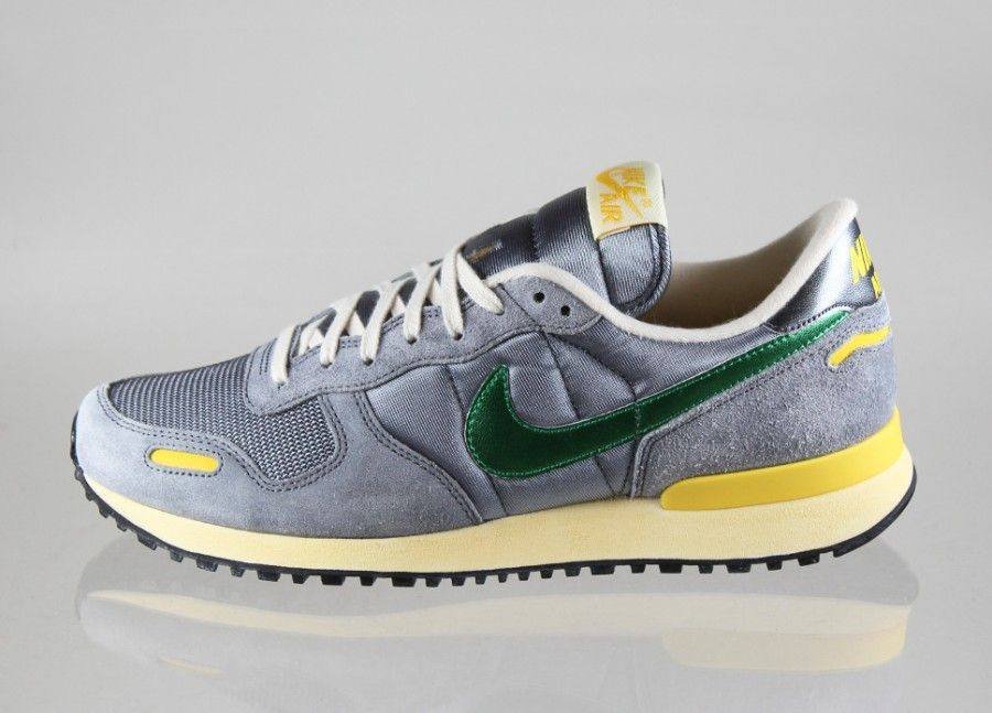 Nike Air Vortex Vintage V-Series (DARK GREY / COURT GREEN - TRUE YELLOW