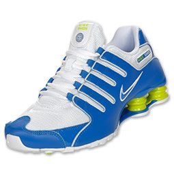$79.98 Mens Nike Shox NZ SI (SoarWhiteCyberSoar color