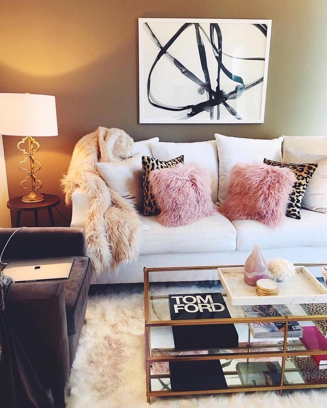Girly Living Room Decor