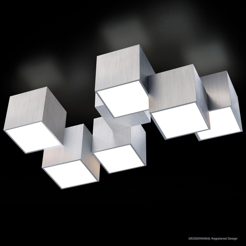 9-9-9 LED 9 x 9,9 Watt 9 Kelvin (warmweiß) Deckenlampe