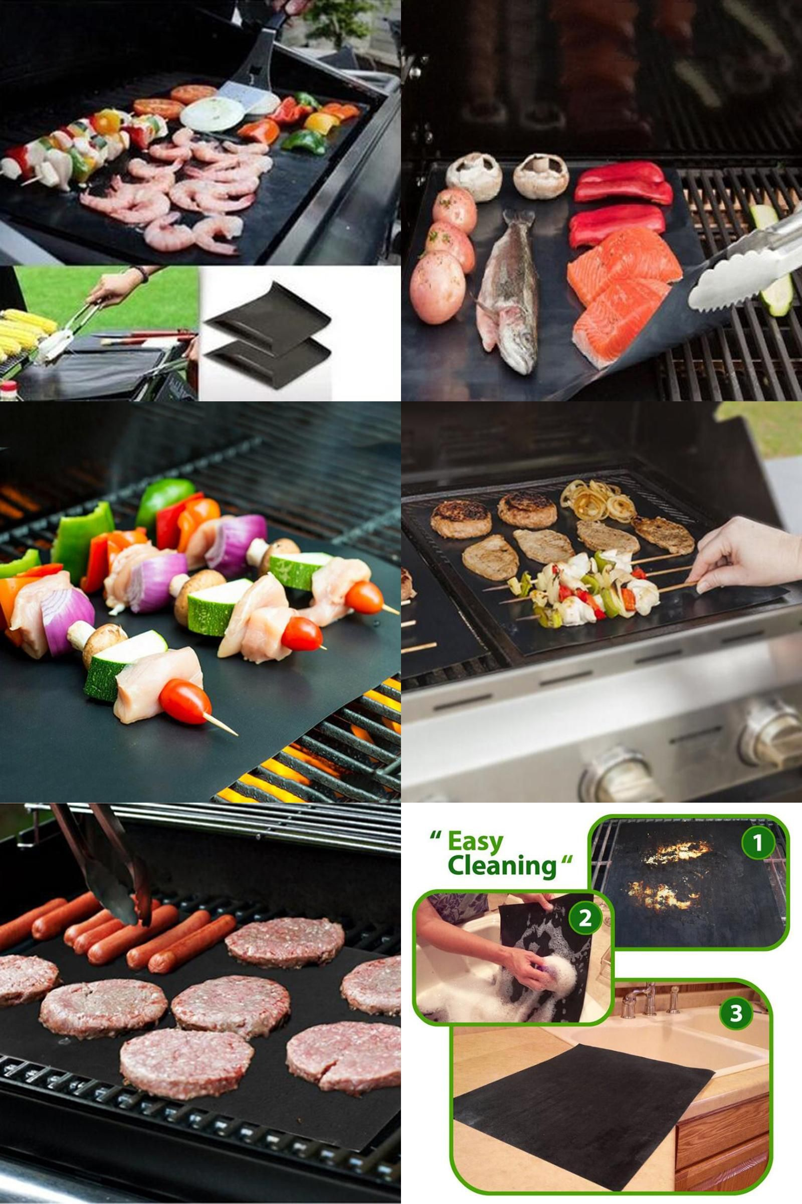 Visit To Buy Ptfe Non Stick Bbq Grill Mat Barbecue Baking Liners
