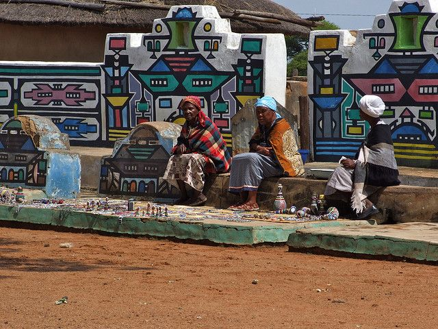 Ndebele Village - 0033 by fiverlocker, via Flickr