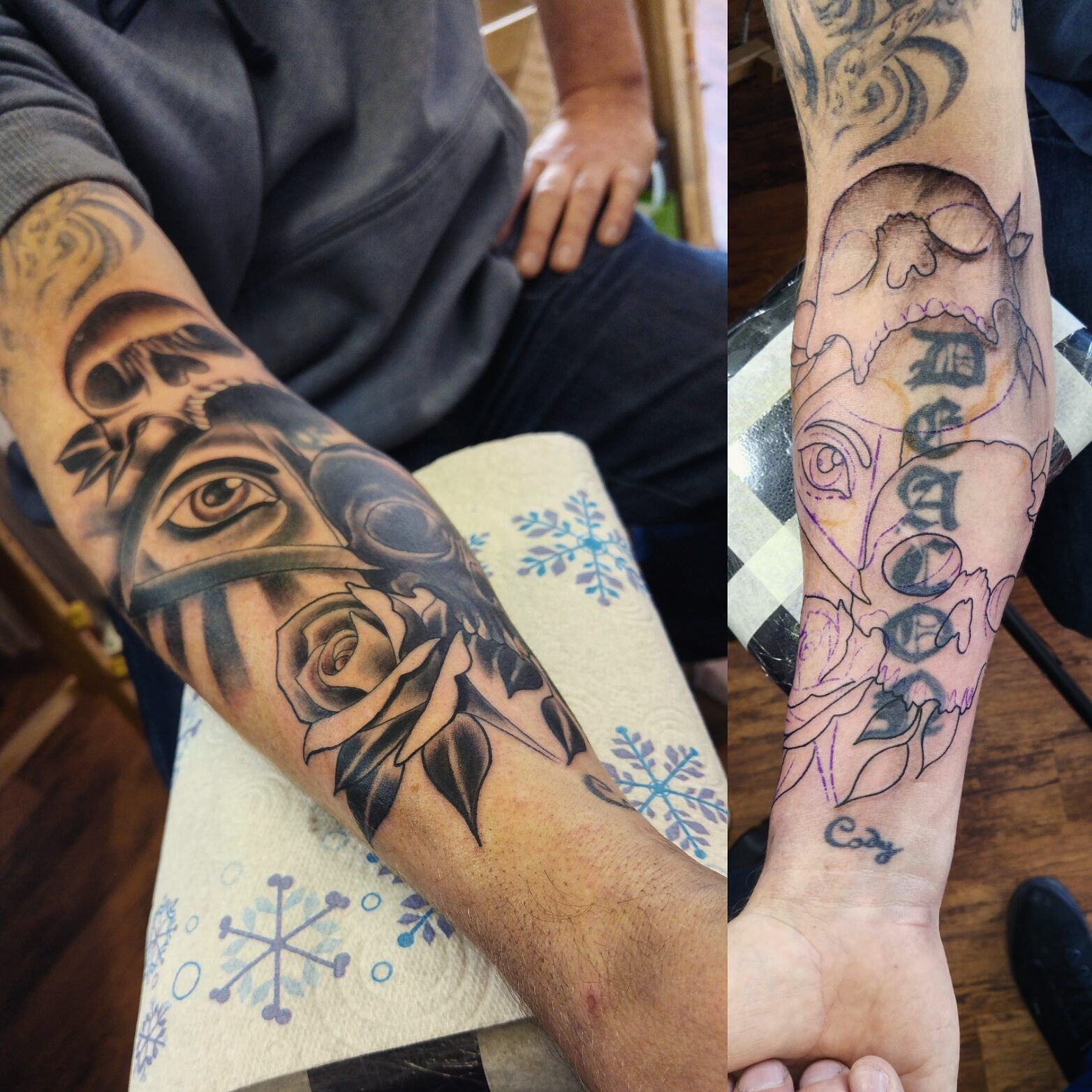 yoppul investigates The rise of cover up tattoos on the