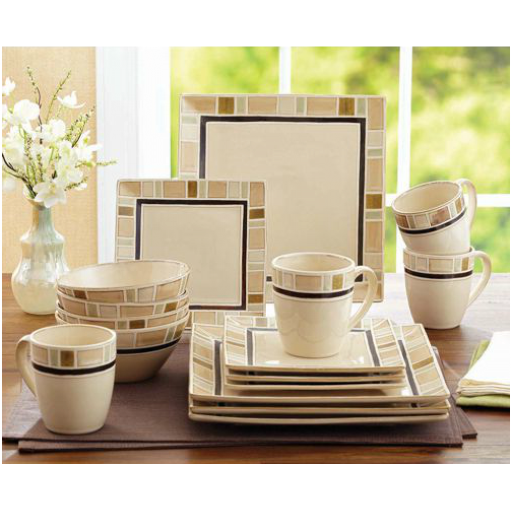 Better Homes And Gardens Dinnerware Better Homes And Gardens Cream