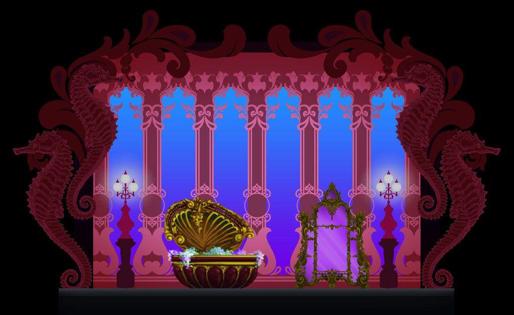 The Little Mermaid Set Design: Wildest Dreams by ~justin-mctwisp on ...