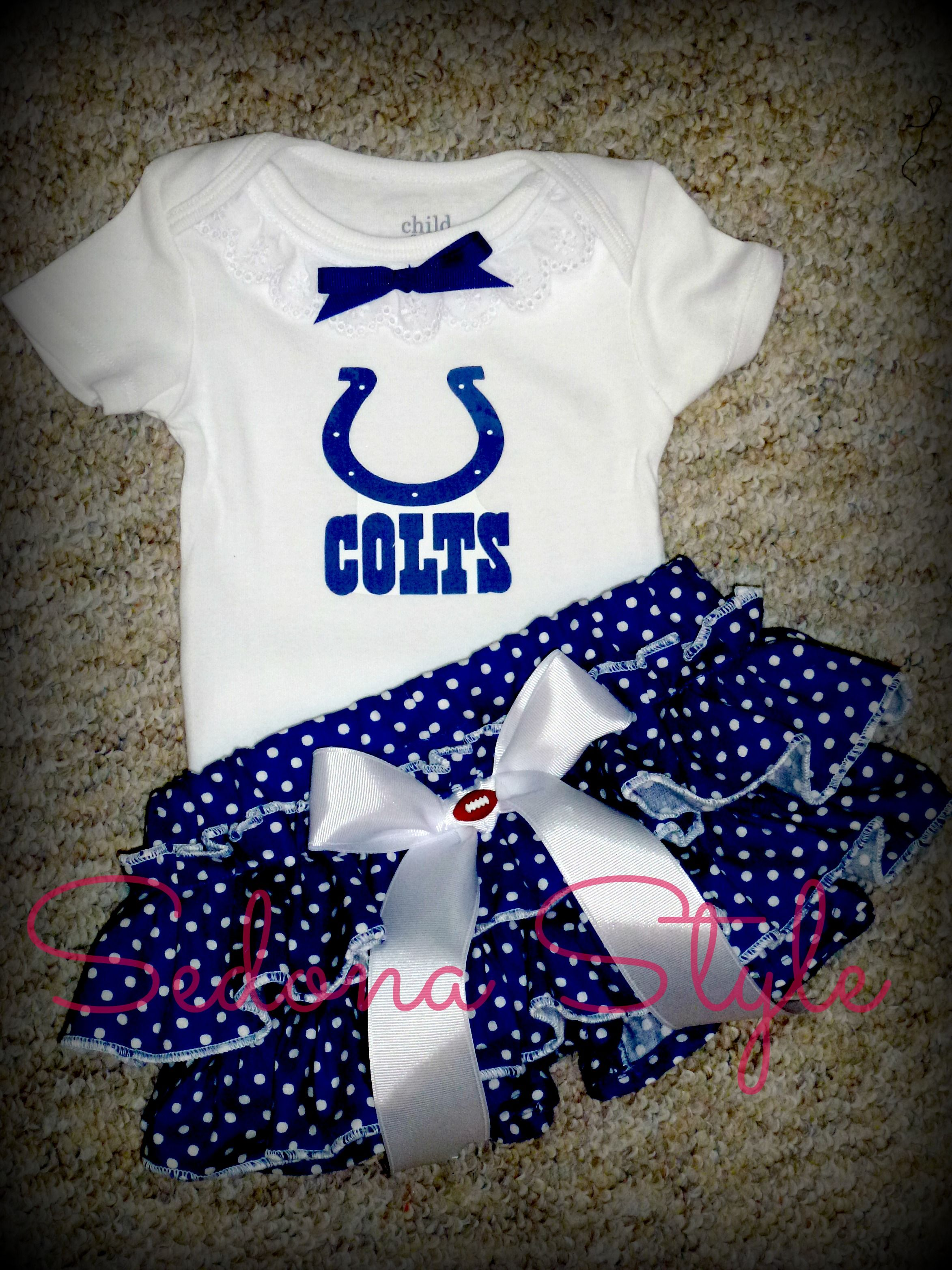 79e41cd9 Girls Indianapolis Colts Cheerleader Outfit, Girls Colts Football ...