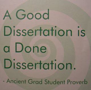 Ten things I wish I'd known before starting my dissertation