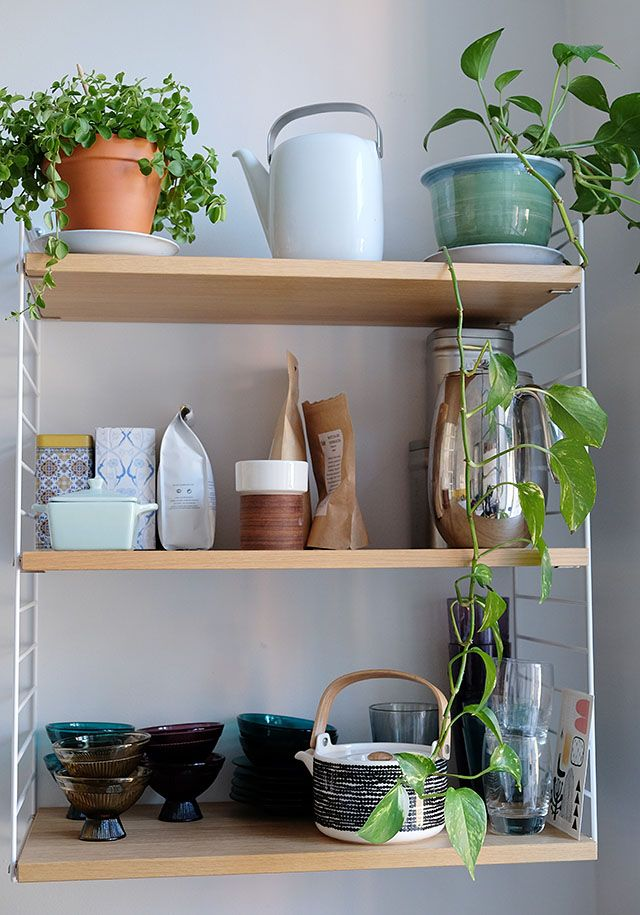 COSY HOME / Kitchen / String shelf https://cosyhomeblogi.wordpress.com/