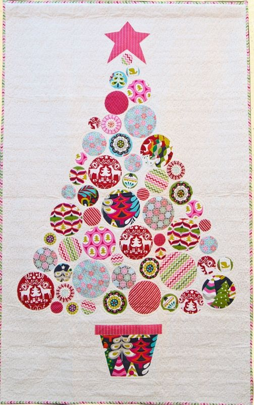 573 Oh Christmas Tree Christmas Patchwork Tree Quilt