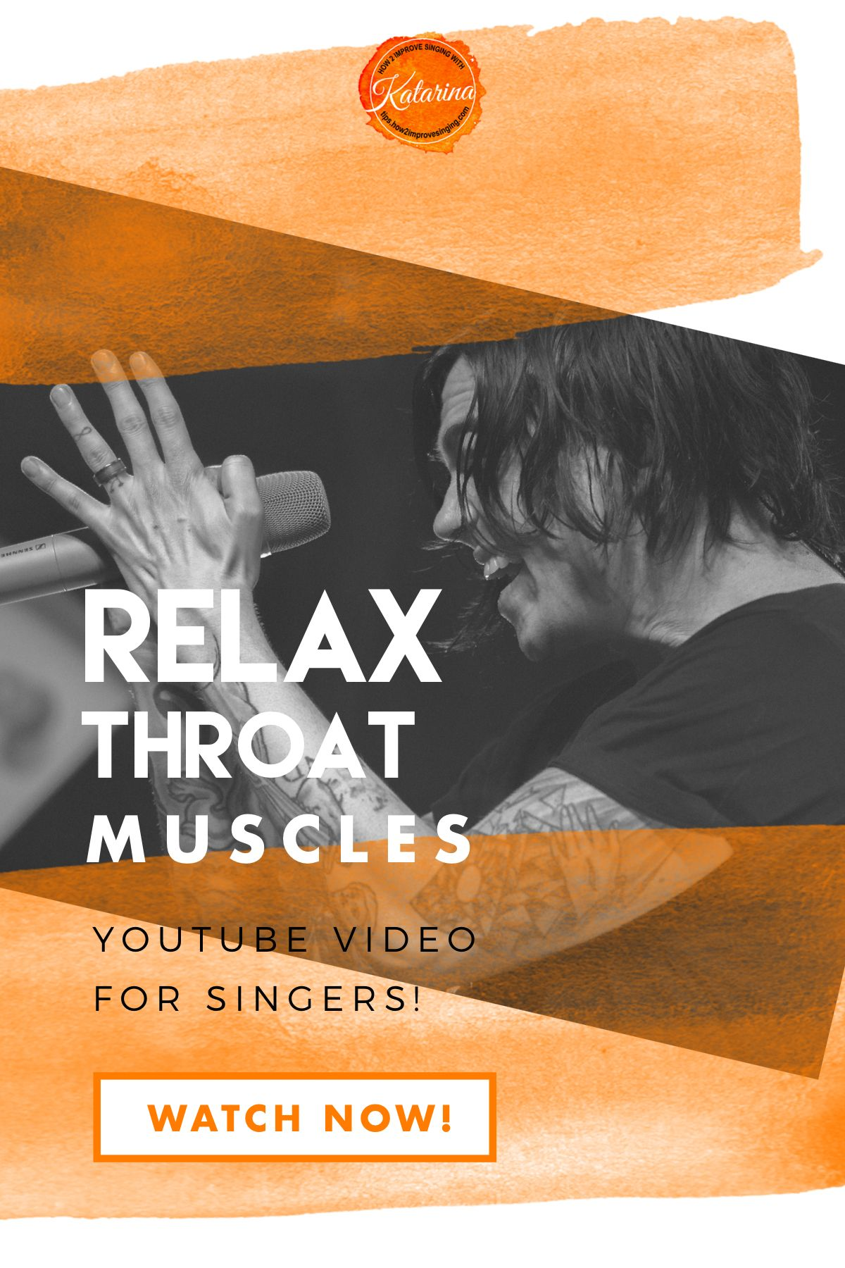 5 tips on how to relax throat muscles and sing without