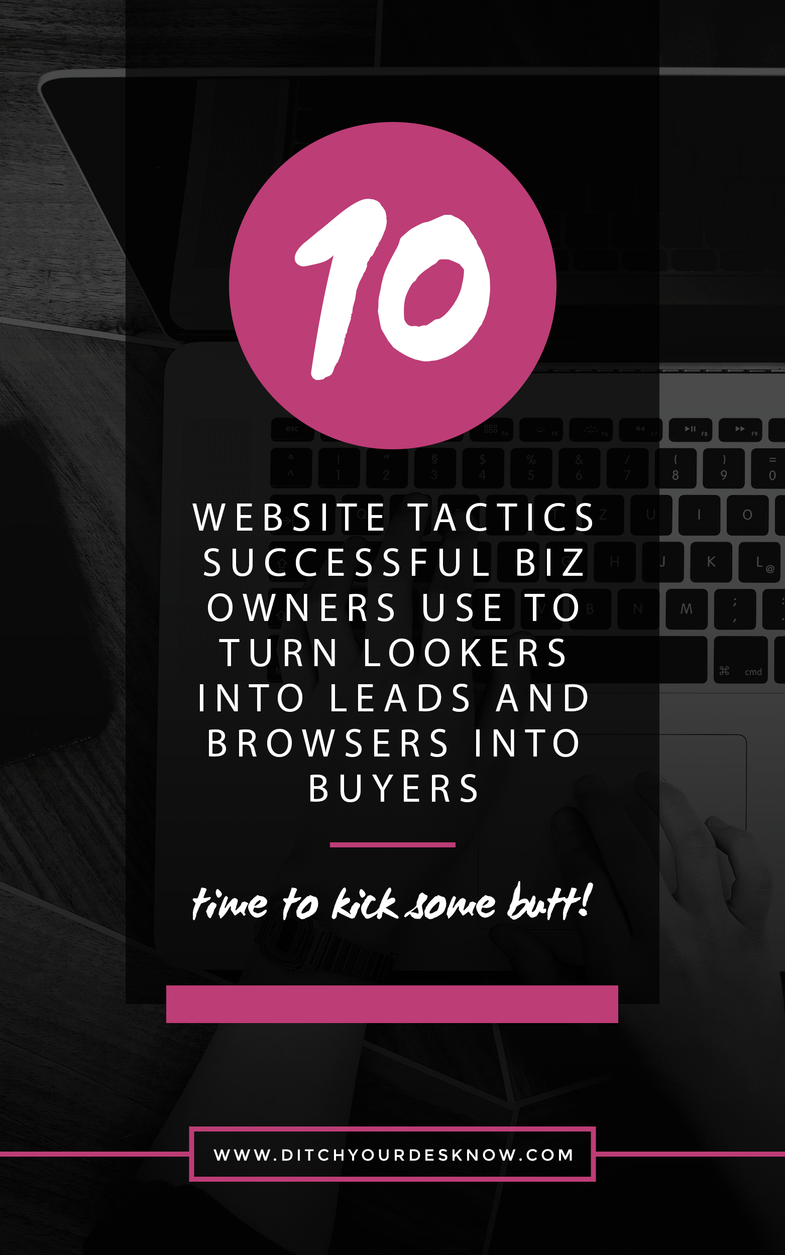 Free Checklist  Website Tactics Successful Business Owners Use