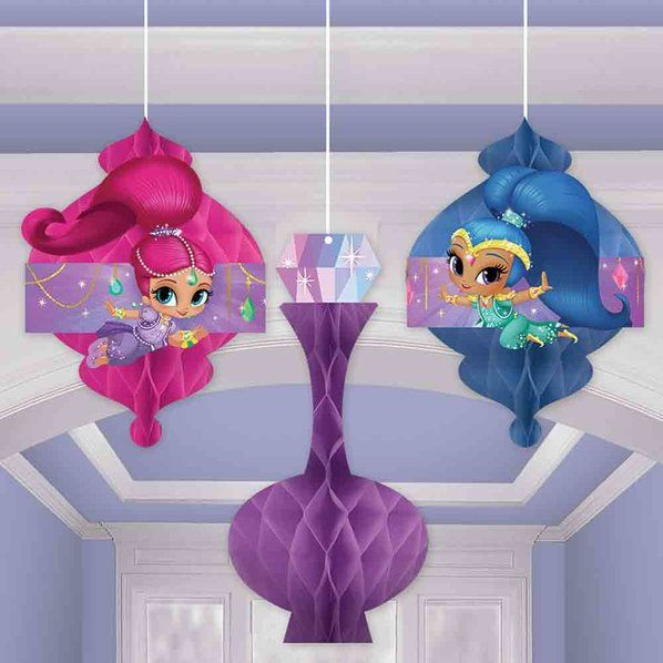 Check Out Shimmer And Shine Honeycomb Decorations