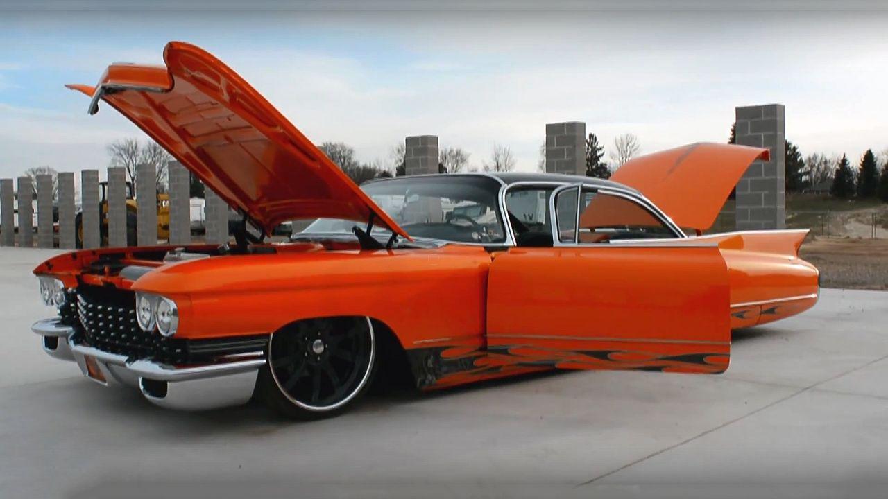 Check this crazy custom 1960 cadillac smooth criminal