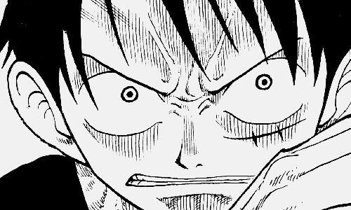 Luffy Angry Mode Arte Manga Dibujos Luffy