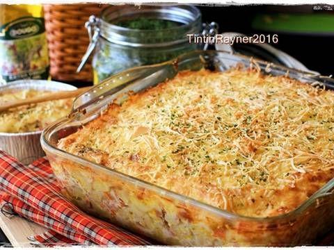 Resep Super Cheesy Macaroni Schotel Panggang Oleh Tintin Rayner Resep Resep Panggang Makanan Italia