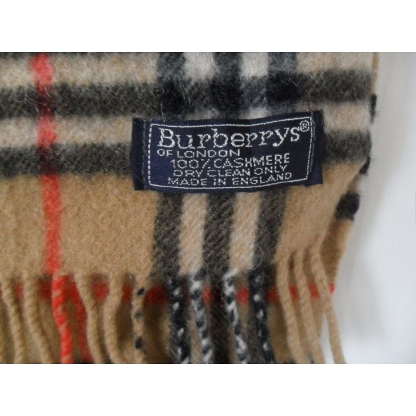 BURBERRYS - Expert-Vintage  vintage écharpe