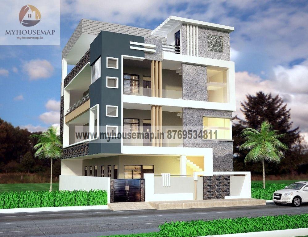 Front Elevation Of G 2 Building : Modern elevation design of residential buildings front