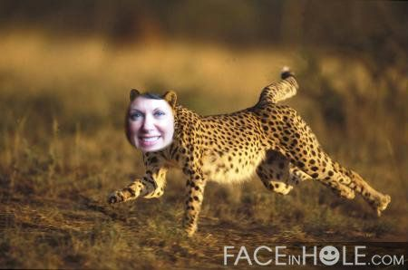 It's my cheetah within