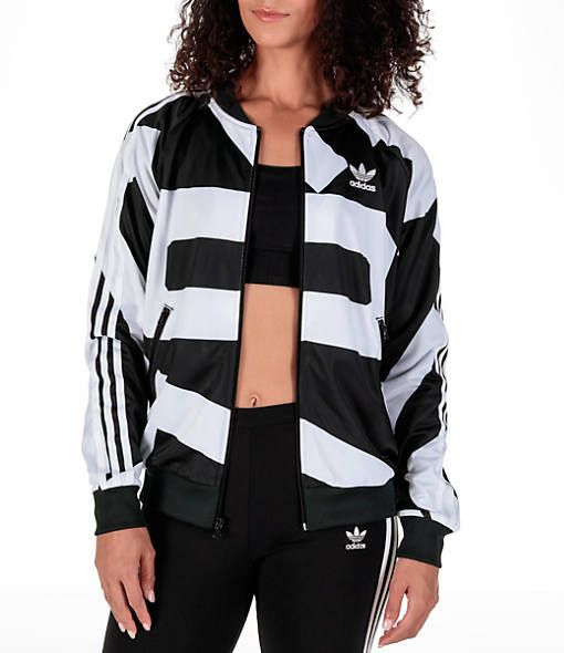 802082b3264 Adidas Women's Originals Bold Age SST Track Jacket | work it out ...
