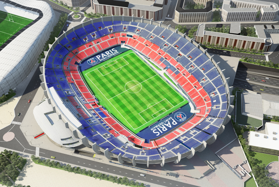 Parc Des Princes Estadios Estadios Del Mundo Estadio De Futbol