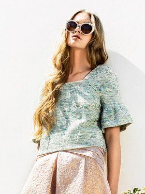 111 0214 B   Patronen Burda   Pinterest   Tuniken, Mode für Frauen ...