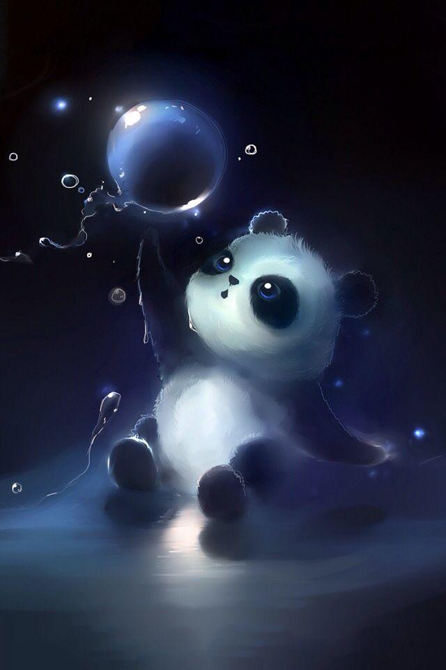 Fondos animales 3 in 2019 fondos de pantalla panda - Panda anime wallpaper ...