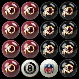 Imperial Officially Licensed NFL Home vs Away Team Billiard//Pool Balls Complete 16 Ball Set