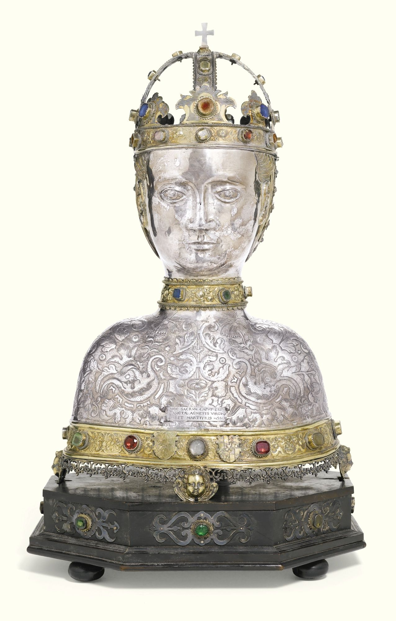 Reliquary bust of St. Agnès (South German, circa 1600) - Sotheby's