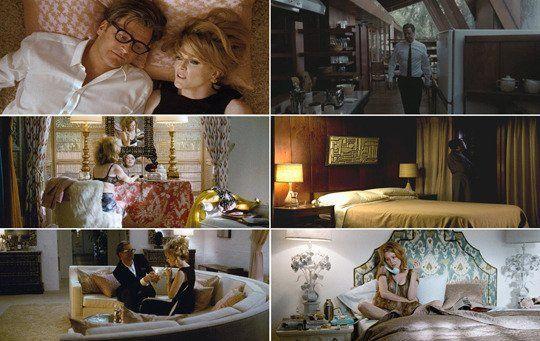 Cinema Style: 20 Unforgettable American Movie Interiors  A Single Man (2009) Production Design: Dan Bishop, Art Direction: Ian Phillips, Set Decoration: Amy Wells