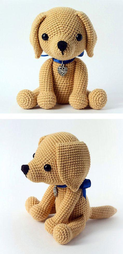 Lucky puppy amigurumi pattern | Häkeln und Anleitungen