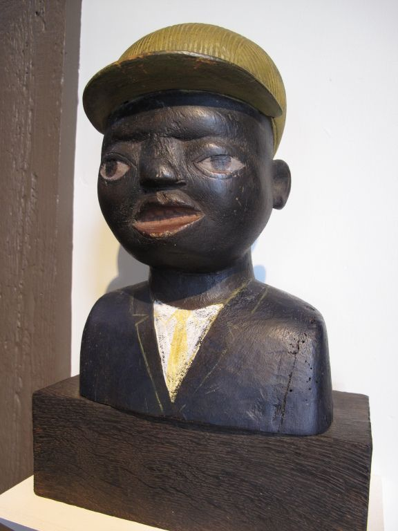 2eb150cf46894 African American Boy Bust African Wood Carvings