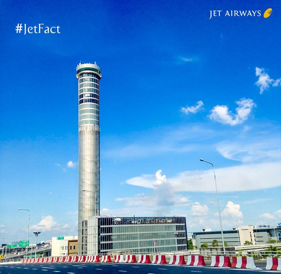 JetFact At a height of 434 feet, Bangkok International