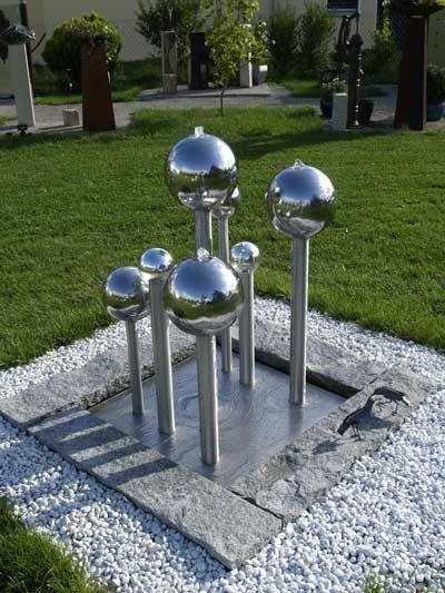 Springbrunnen  Gartenbrunnen ein Blickfang für Ihren Garten diy - brunnen garten stein