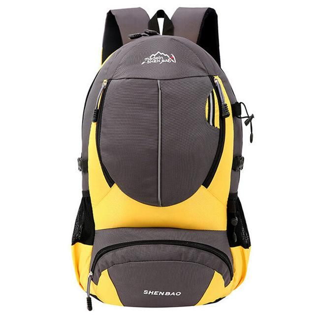 3482f8d899 Sports gym bag Waterproof Nylon s Patchwork Panelled Outdoor Mountain  Climbing Hiking Camping Backpack Teenage Girls
