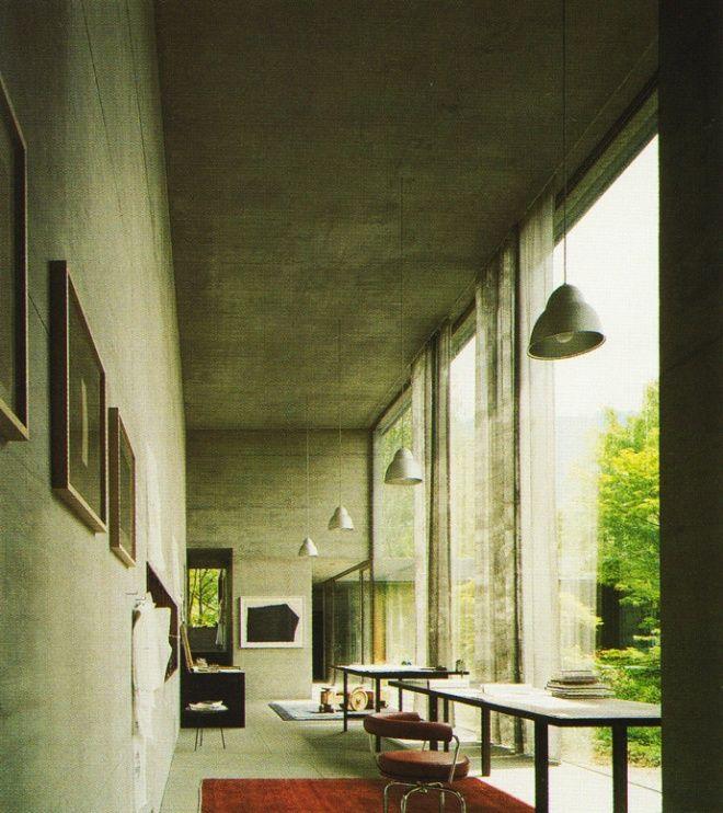 zumthor house haldenstein 2005 inside pinterest wohnideen architektur und h uschen. Black Bedroom Furniture Sets. Home Design Ideas