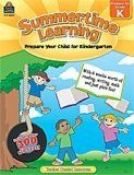 Summertime Learning: Prepare for Kindergarten, This series is designed to help parents prepare their children for the next school year while allowing them to enjoy their summer vacation!  (http://store.oblockbooks.com/summertime-learning-prepare-for-kindergarten/)