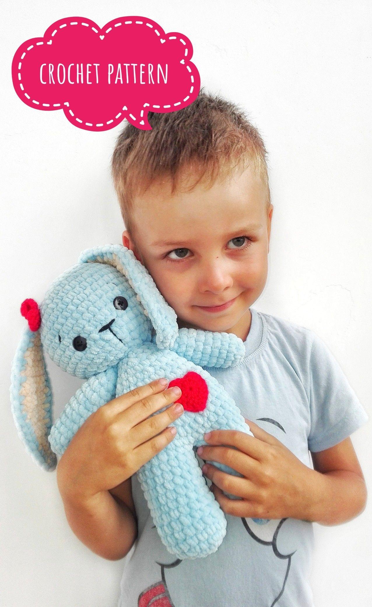 Crochet Pattern Bunny Toy