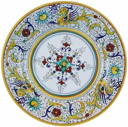 Deruta Italian Dinner Plate  sc 1 st  Pinterest & Love this! Deruta Italian Dinner Plate   çini   Pinterest   Pottery ...