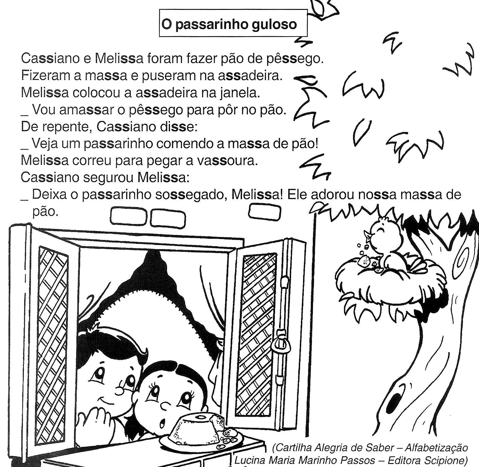 Textos Para Imprimir Leituras Escola 2017 Texto Para