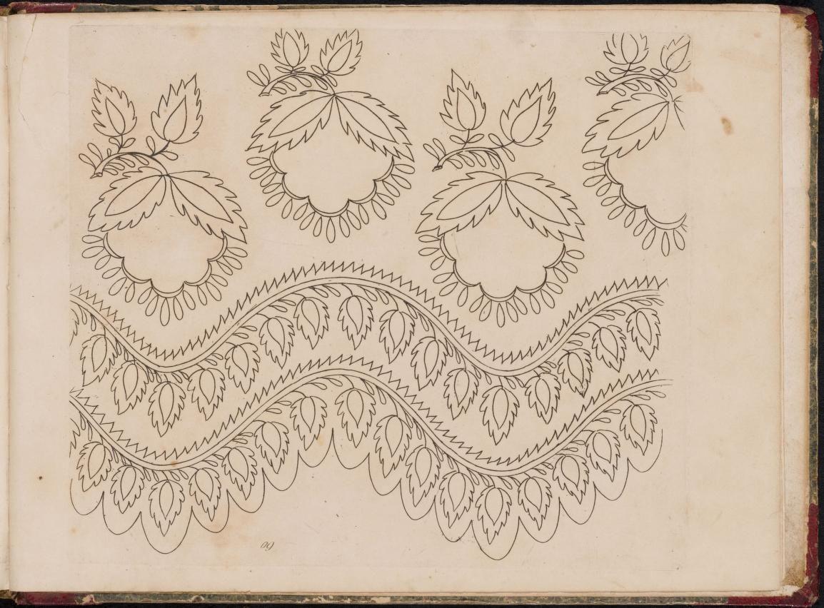 Modes et dessins de broderie madame dua d early th