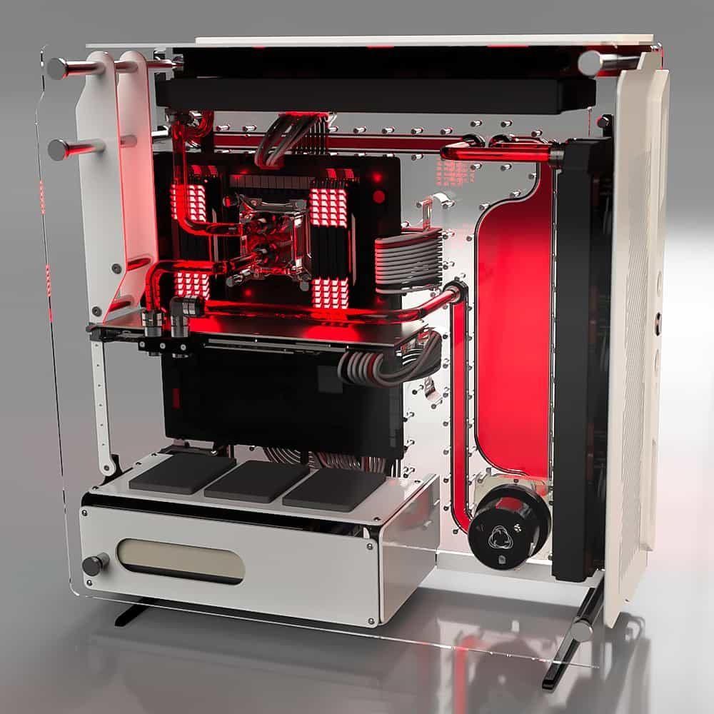 Spectre 2 0 Black Custom Computer Case Custom Computer Computer