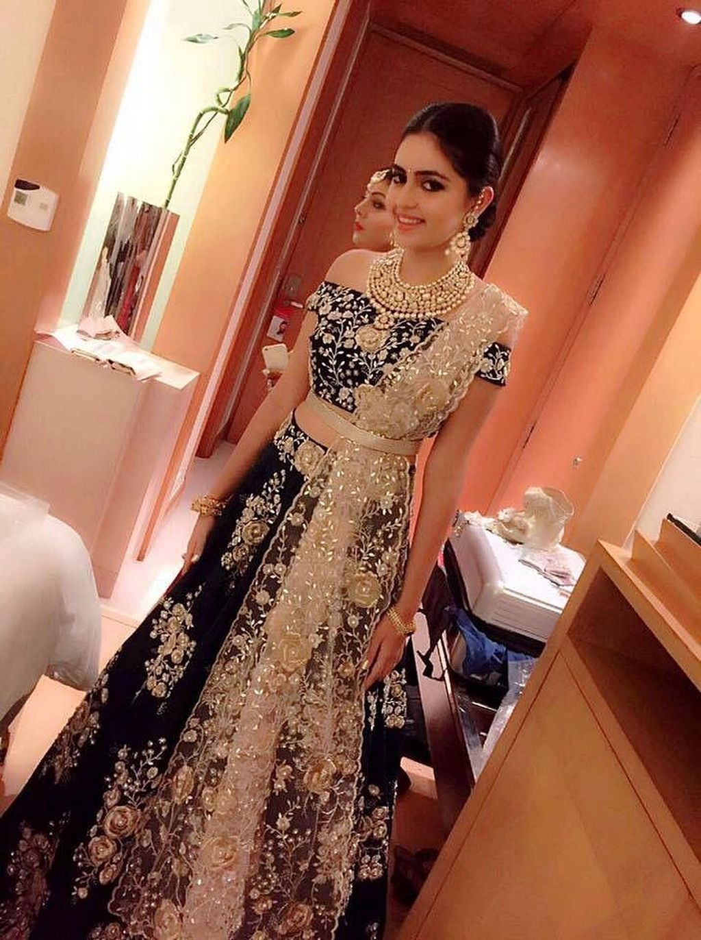Dresses to wear to a wedding reception  Beautiful indian wedding reception ideas   Outfits  Pinterest