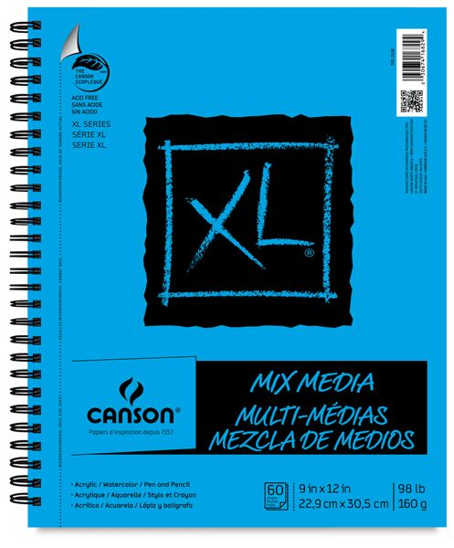 Canson Xl Series Mix Media Pad Canson Xl Mix Media Pads Sketch Book Journal Pads Mixed Media