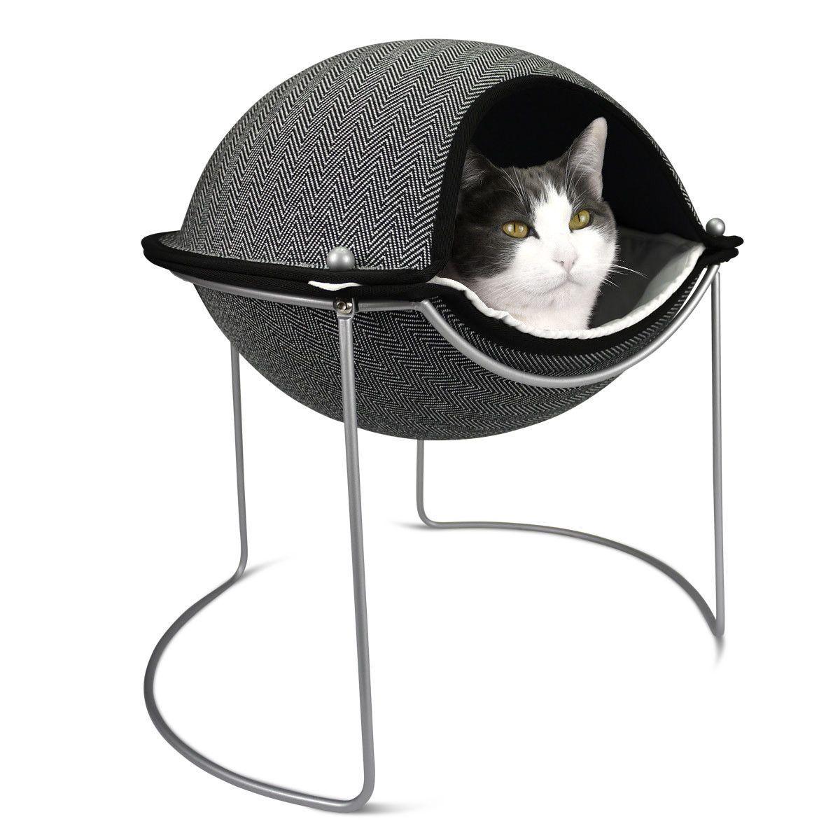Hepper Pod Cat Bed Pod bed, Modern cat furniture, Cat