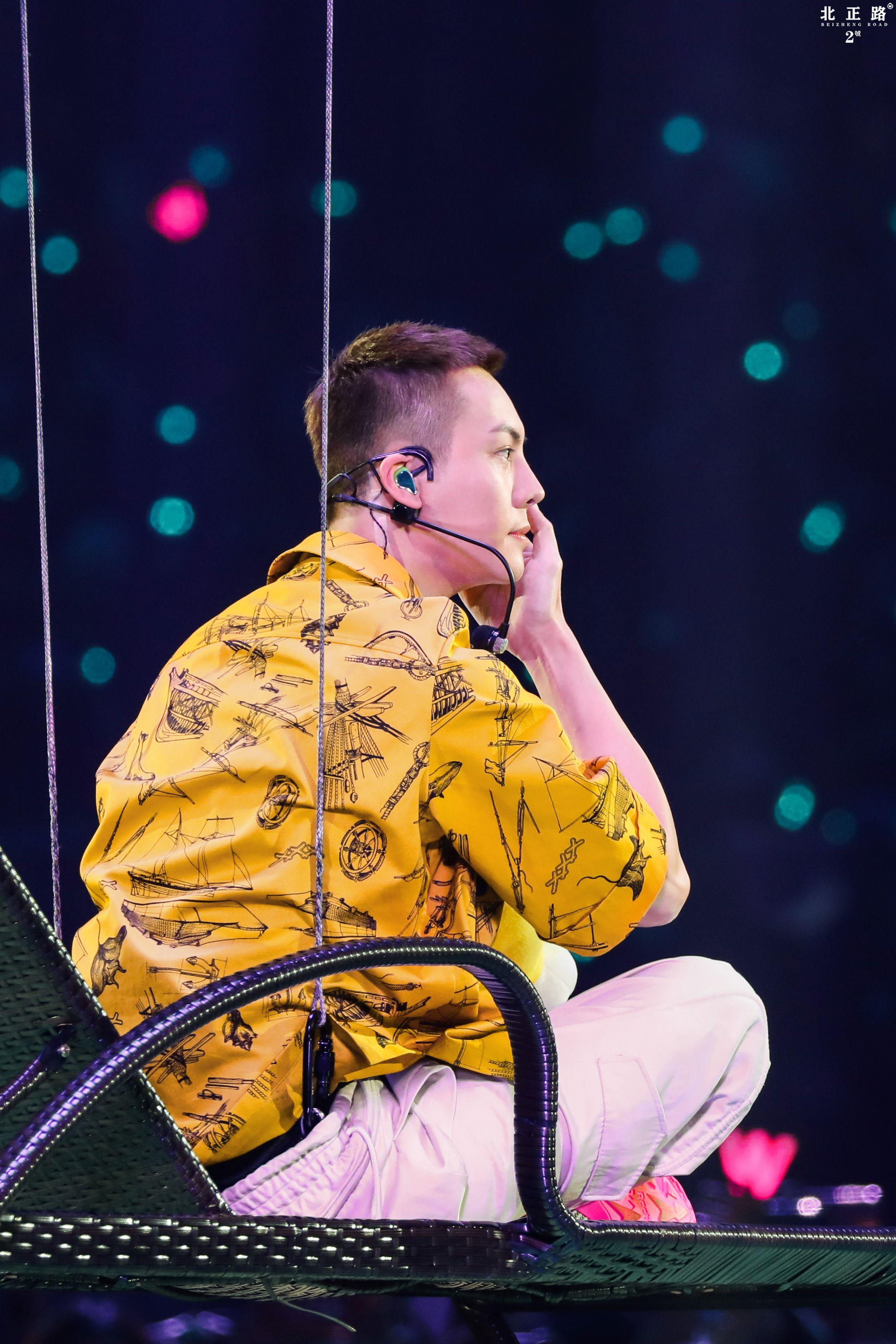 William Chan Fanpics Jiangsu TV New Year's Eve Concert