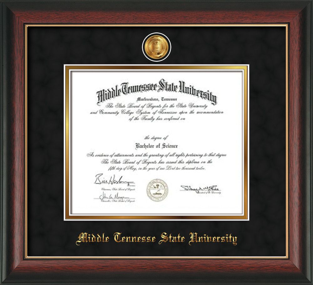 Fine University Of Tennessee Diploma Frame Pictures - Framed Art ...