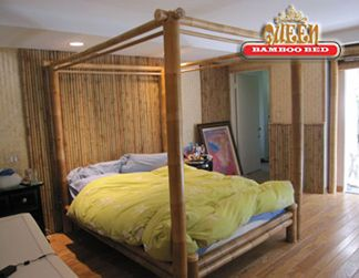 Canopy Bed Idea Posts Stand Along Side The Frame