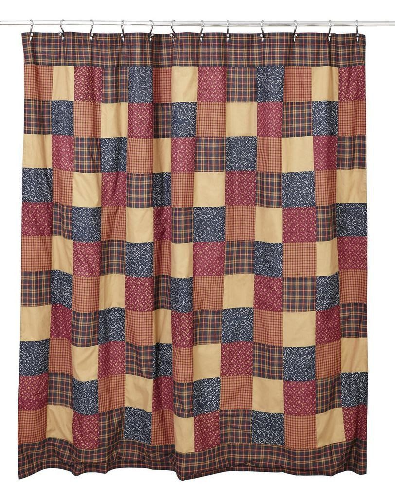 Old Glory Shower Curtain Primitive Bathrooms Primitive Bathroom Decor Primitive Decorating