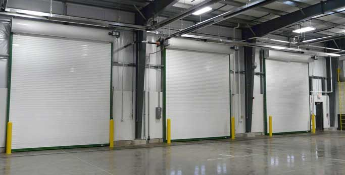 Cornell Iron Works Coiling Overhead Service Doors High
