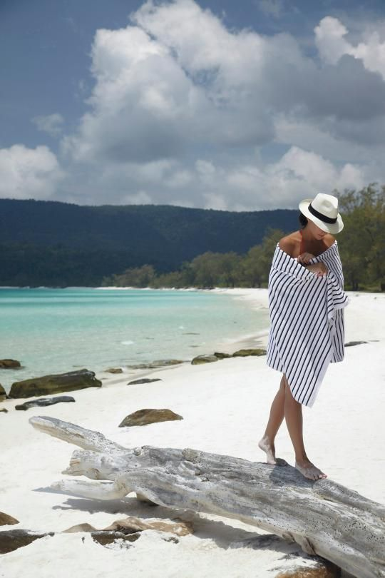 Melita Koulmandas Hunter Is A Co Owner Of Song Saa A Stunning Private Island Resort In Cambodia